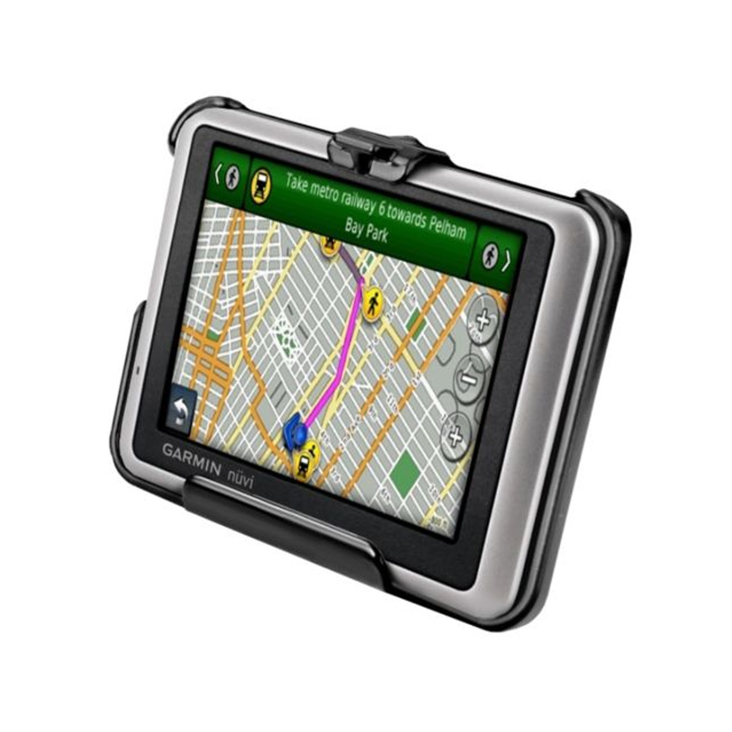 ram mounts cradle garmin nuvi gps navigation holder ram. Black Bedroom Furniture Sets. Home Design Ideas