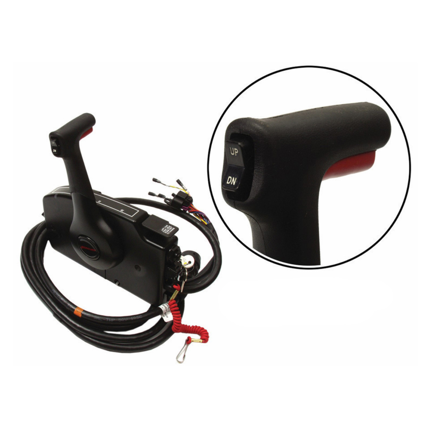 Image is loading Mercury-New-OEM-Side-Mount-Remote-Control-14-