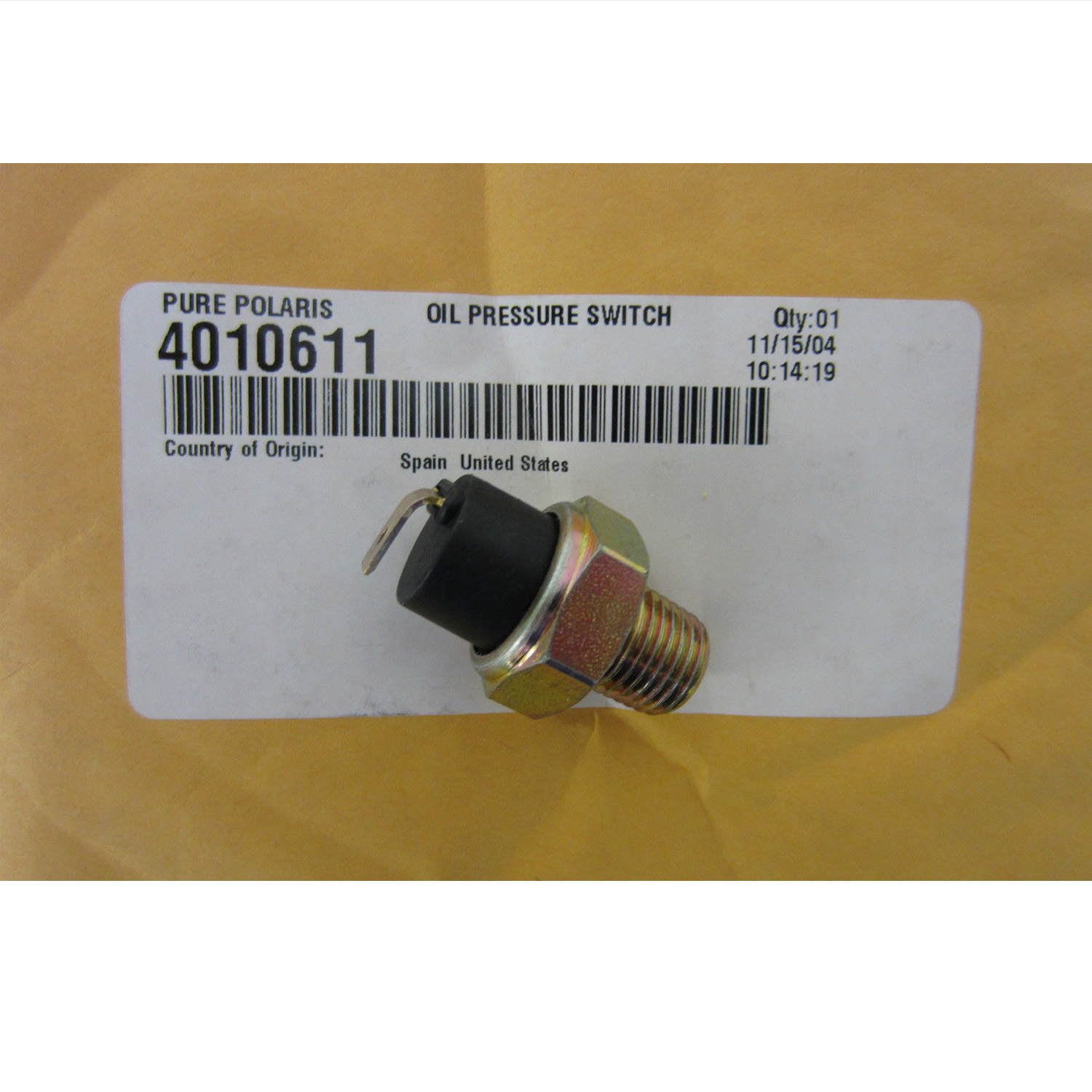 Polaris New OEM Snowmobile Oil Pressure Switch Indy,Frontier,Classic,Touring