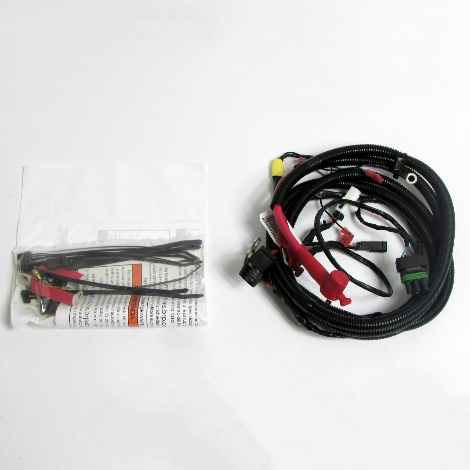 Image is loading Can-Am-New-OEM-Defender-Winch-Electrical-Harness-