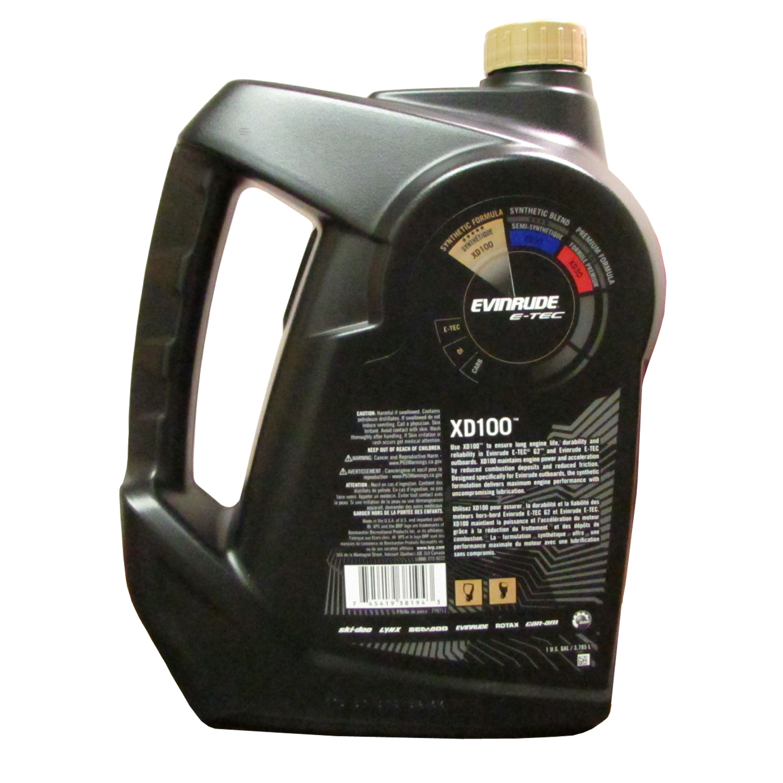 Johnson Evinrude/OMC  OEM XPS Marine XD100 Oil Gallon 0779711, 779711, 0764357