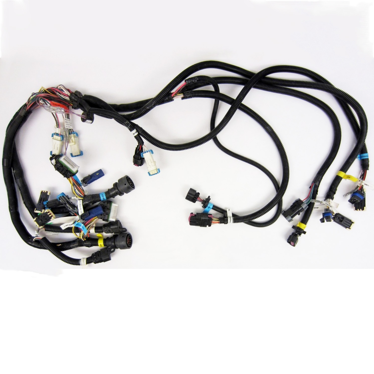 mercury new oem smartcraft dts verado dual engine wire harness 84 rh ebay  com mercury smartcraft wiring harness mercury engine wiring harness