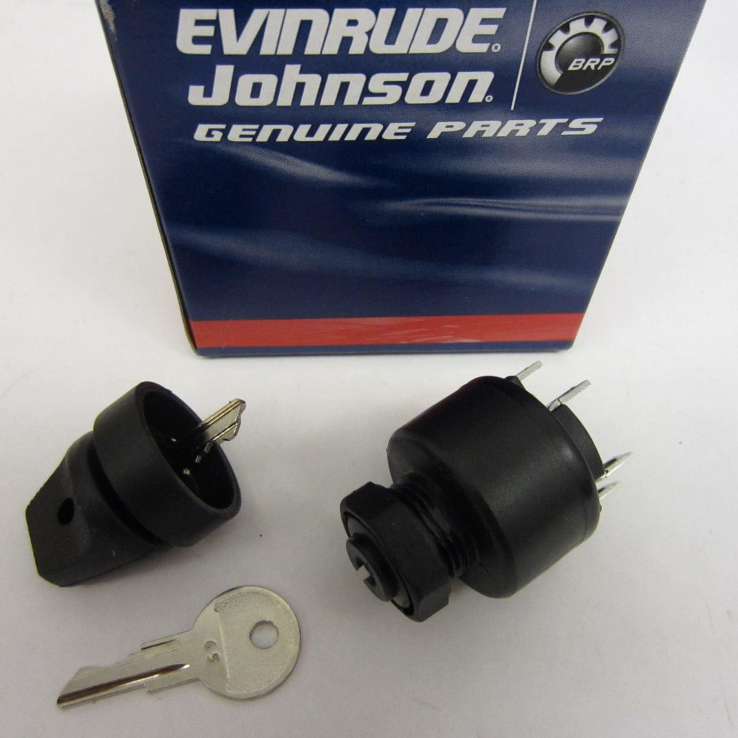 Johnson Evinrude Omc New Oem Igntion Key Starter Switch 0508180 Brp Ignition Wiring Diagram Image Is Loading