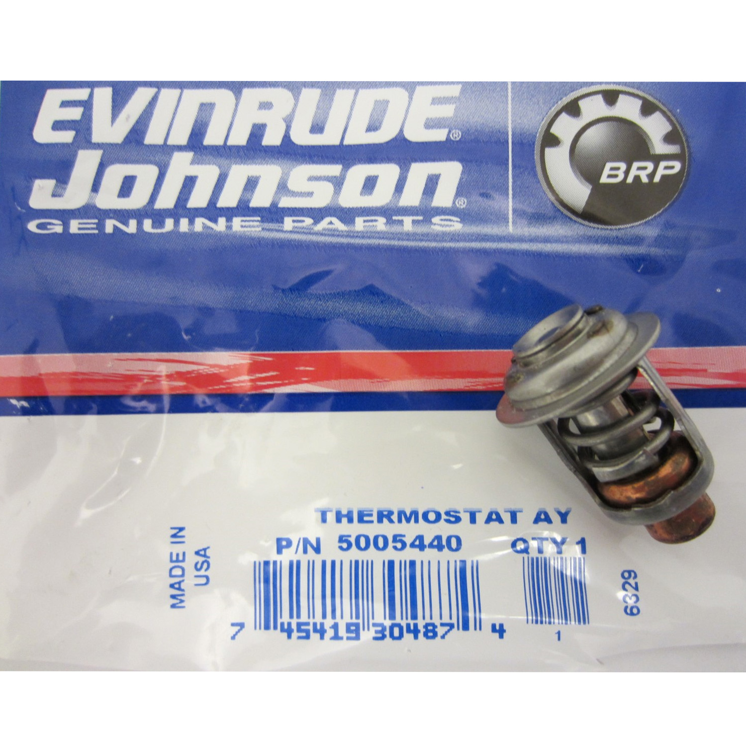 Evinrude Boat Outboard Engines And Components For Sale Ebay 1973 25 Wiring Harness Johnson New Oem Thermostat 5005440 378065 393659 434841