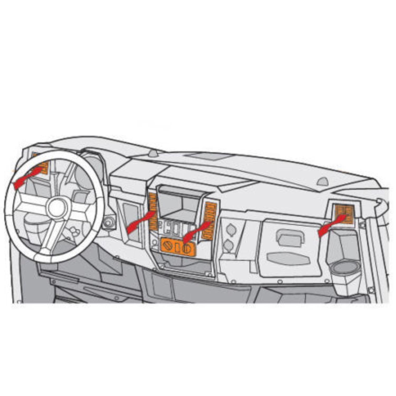 Polaris New Oem Ranger Heater Defrost Kit 2880023 Ebay