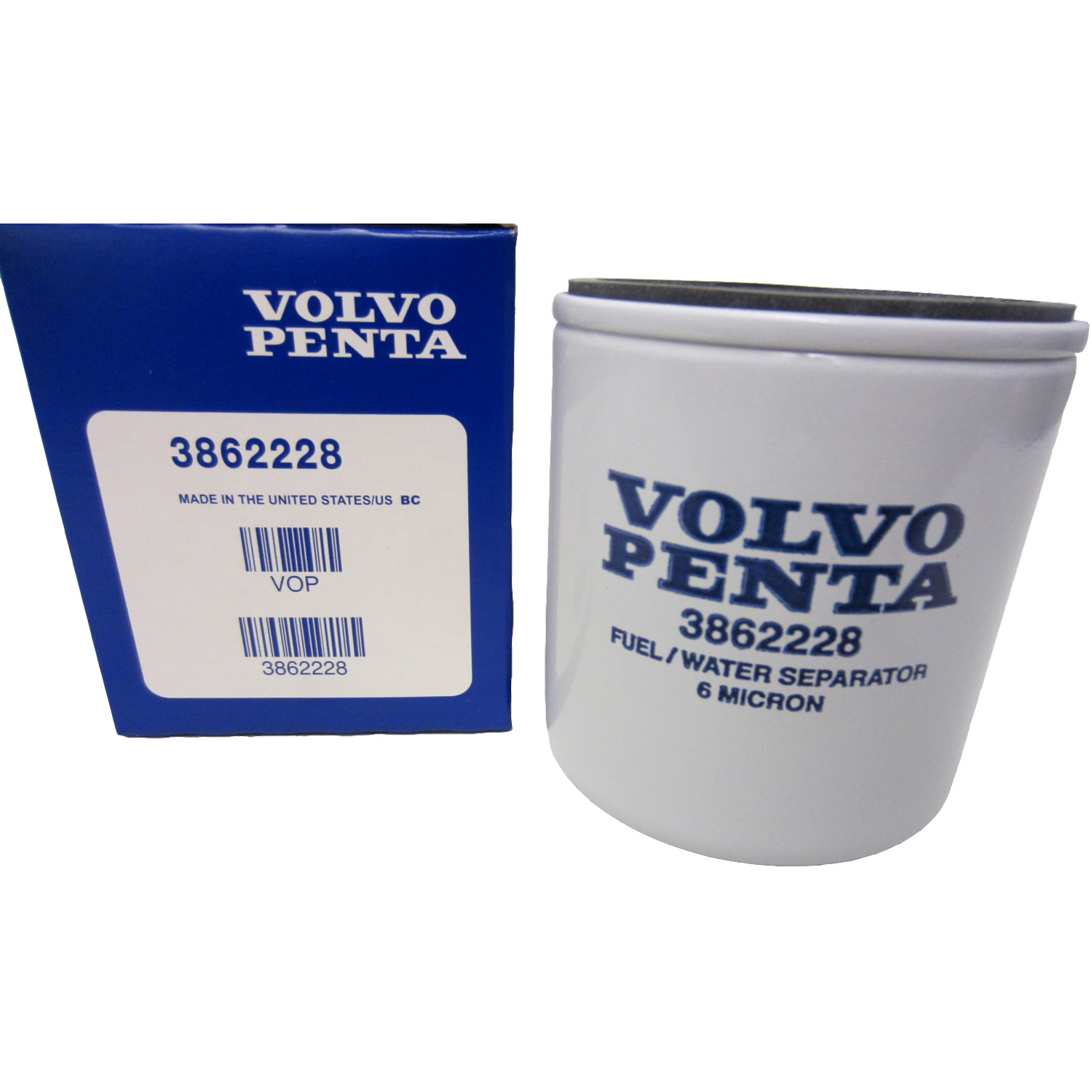 Image is loading Volvo-Penta-Stern-Drive-New-OEM-Fuel-Filter-